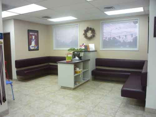 Our Client Waiting Area